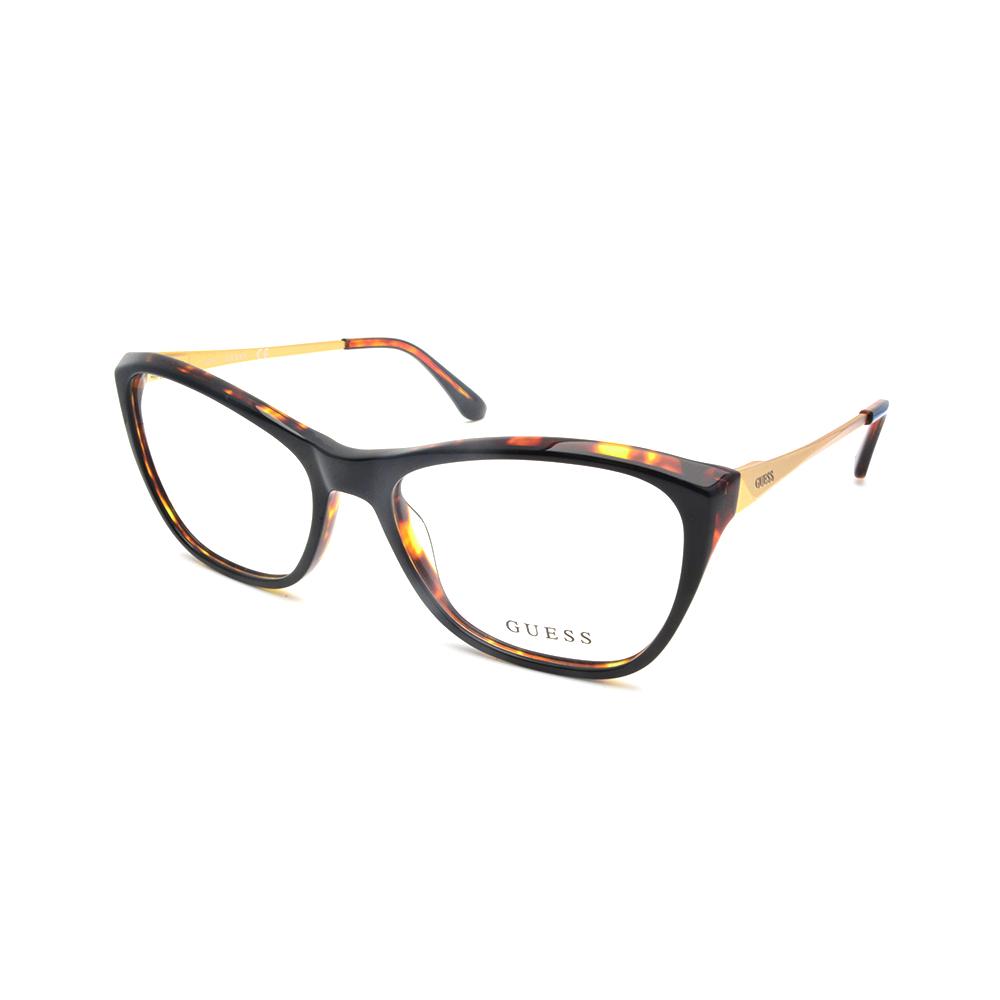 Γυναικεία γυαλιά οράσεως κοκκάλινα GUESS GU2604 001 - Eye Wear by ... 0eade8e74ed