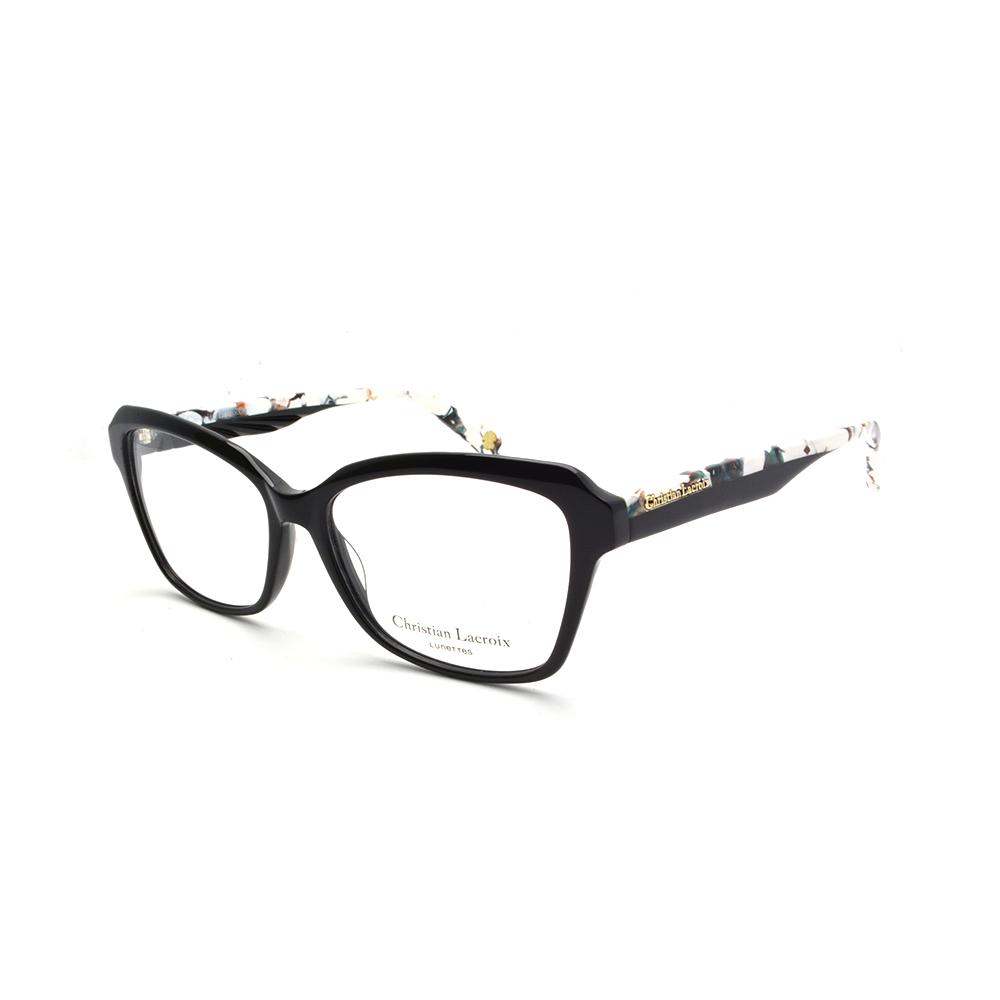 Γυναικεία γυαλιά οράσεως κοκκάλινα Christian Lacroix CL1072 001 ... a3804bbb387