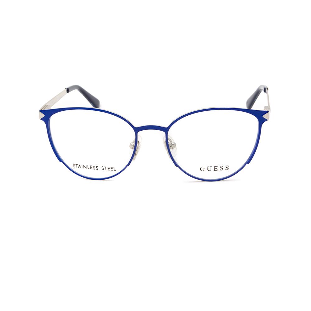 Γυναικεία γυαλιά οράσεως μεταλλικά GUESS GU2665 090 - Eye Wear by ... 411ff6a8298